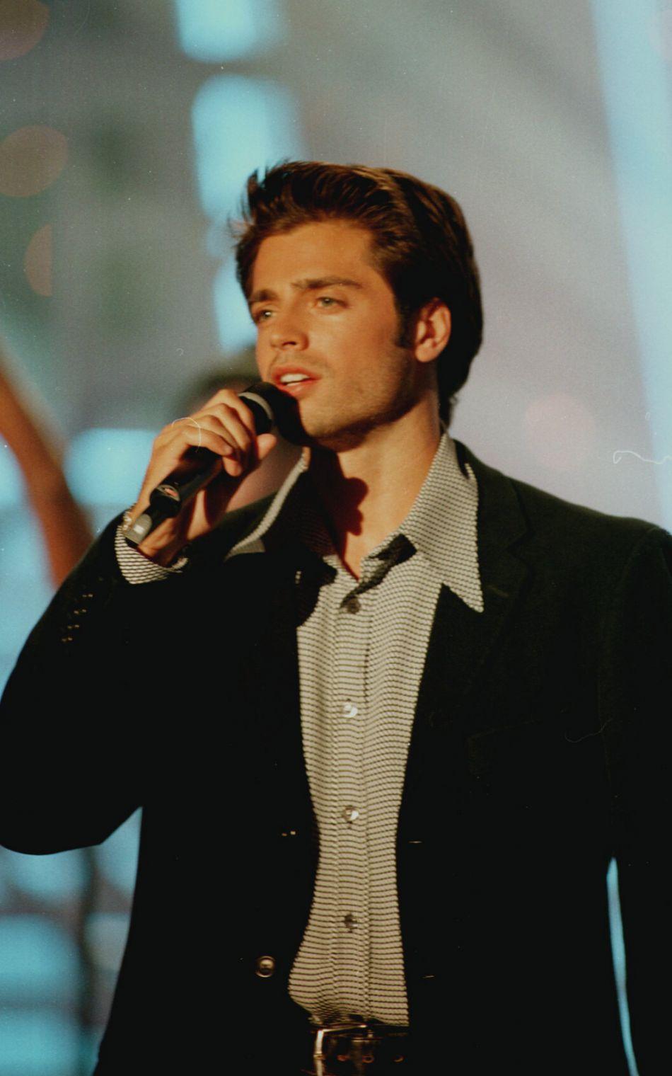 David Charvet, le chanteur. Son autre casquette.