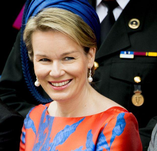 La reine de Belgique, reine du flashy.