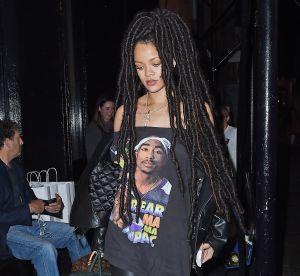 Rihanna affiche dreadlocks et look 'bad ass' dans les rues de New York