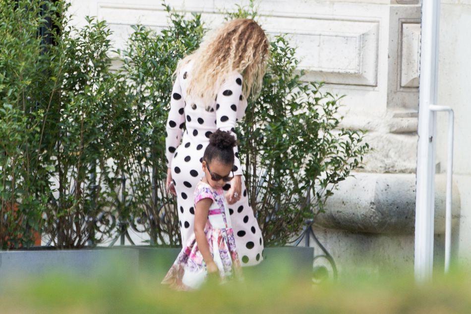 Beyoncé et Blue Ivy, joli duo sur Instagram.