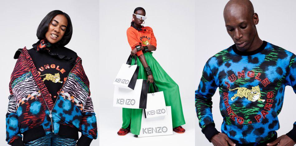 La ligne Kenzo x H&M est ultra désirable.
