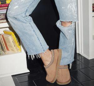 Un jean effilé et des chaussures UGG , on dit oui.