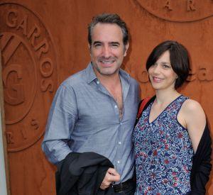 Nathalie Péchalat et son compagnon Jean Dujardin, heureux parents de la petite Jeanne.