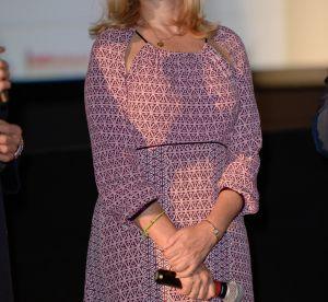 Emmanuelle Béart : sublime dans sa robe rose pour le Festival Lumière à Lyon