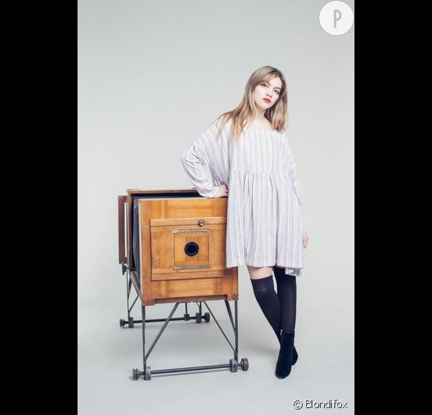 La robe Blondifox est aussi rétro que moderne.