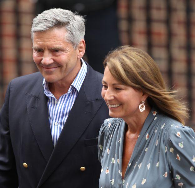 Michael et Carole Middleton sont au cœurd'un scandale.