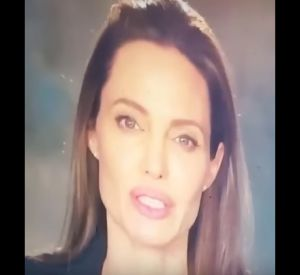 Angelina Jolie s'exprime pour la Cour pénale internationale.