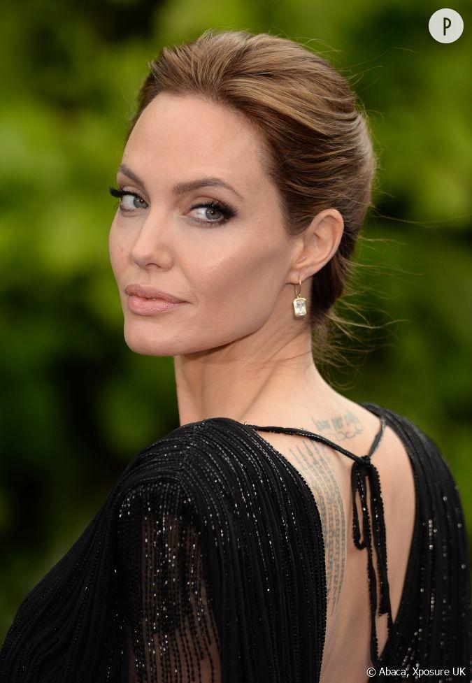Angelina jolie se montre pour la premi re fois apr s l 39 annonce de son div - Sortir de l indivision apres separation ...