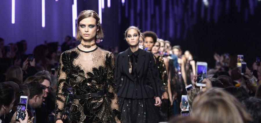 Elie Saab, Sonia Rykiel, Valentino : les 5 silhouettes du week-end