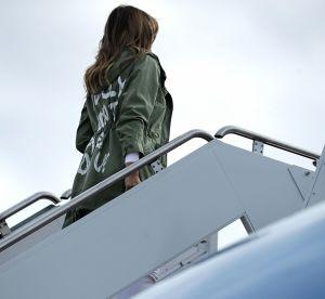 Melania Trump : la veste du scandale se revend pour des sommes astronomiques