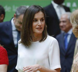 Letizia d'Espagne, reine du recyclage : sa jupe fleurie ne la quitte plus