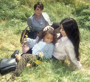 North West : déjà star de la nouvelle campagne Fendi aux côtés de Kim et Kris