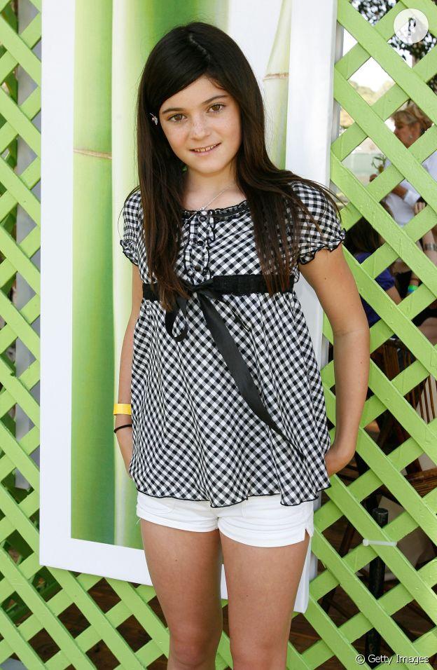 Kylie Jenner en 2008 à 11 ans.