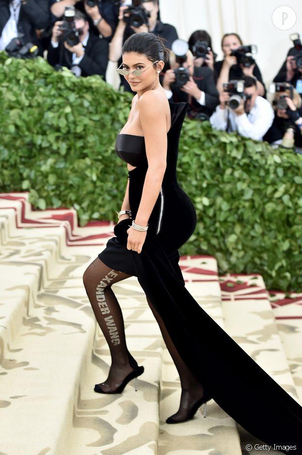 Kylie Jenner au MET Ball 2018.