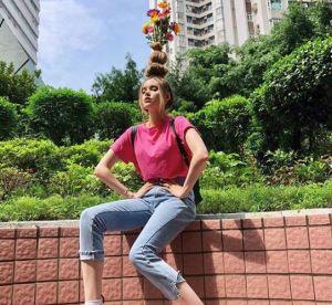 Le Flower Vase Hair : la tendance coiffure la plus WTF de l'année