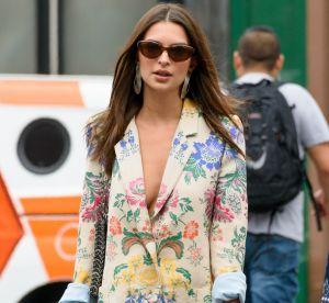 Porter un blazer façon robe comme Emily Ratajkowski, c'est possible ?