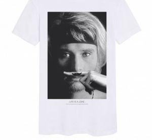 Pourquoi on va s'arracher les t-shirts Elevenparis à l'effigie de Johnny