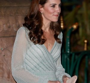 Dans sa robe bleue, Kate Middleton a des airs de petite sirène
