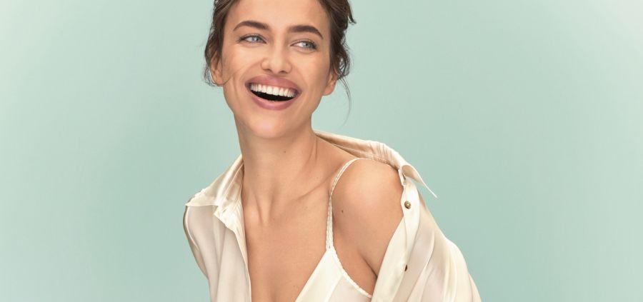 Irina Shayk, douce sensualité pour Intimissimi