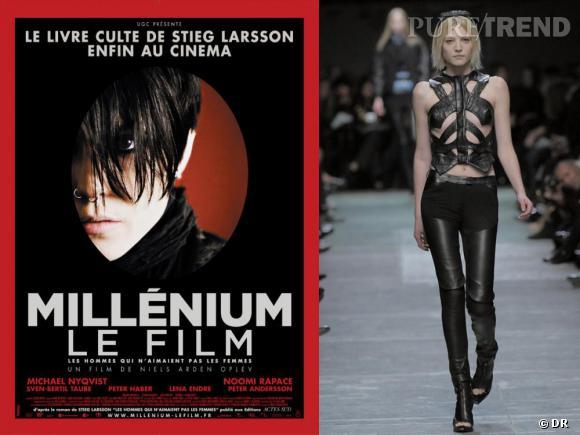 Un film: Millénium / un look :Givenchy