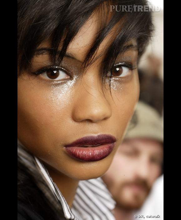 Nom : Chanel Iman   Agence : Ford   Nationalité : Américaine   Age : 20 ans   Taille : 1m75   Mensurations : 82/58/84