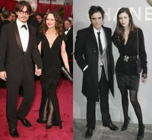 Benchetrit-Mouglalis VS Depp-Paradis : le couple le plus looké