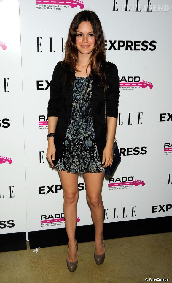 """Rachel Bilson à la soirée """"TXT L8TR"""" organisée par le magazine Elle et la marque Express"""