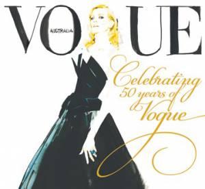 Cate Blanchett illustrée pour Vogue