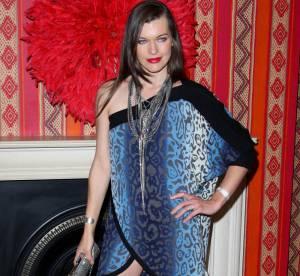 Milla Jovovich en panthère eighties