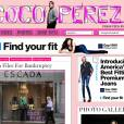 Le nouveau blog mode de Perez Hilton Cocoperez