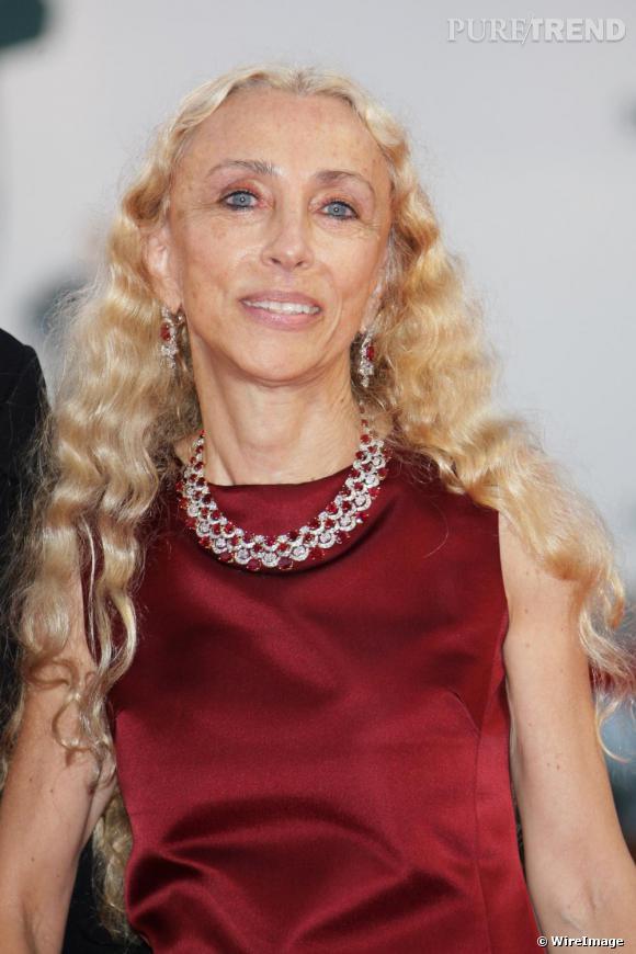 Franca Sozzani au festival de Venise