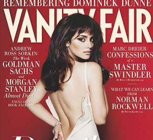 Penelope Cruz se déshabille en couverture