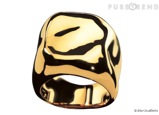 """Bague """" Nougat """" en or jaune, Dior Joaillerie"""