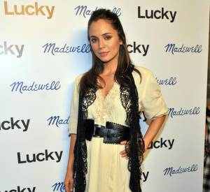 Eliza Dushku à la soirée Denim Tour, à Hollywood