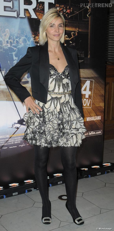 Clotilde Courau lors de la première du film Le Concert à Paris