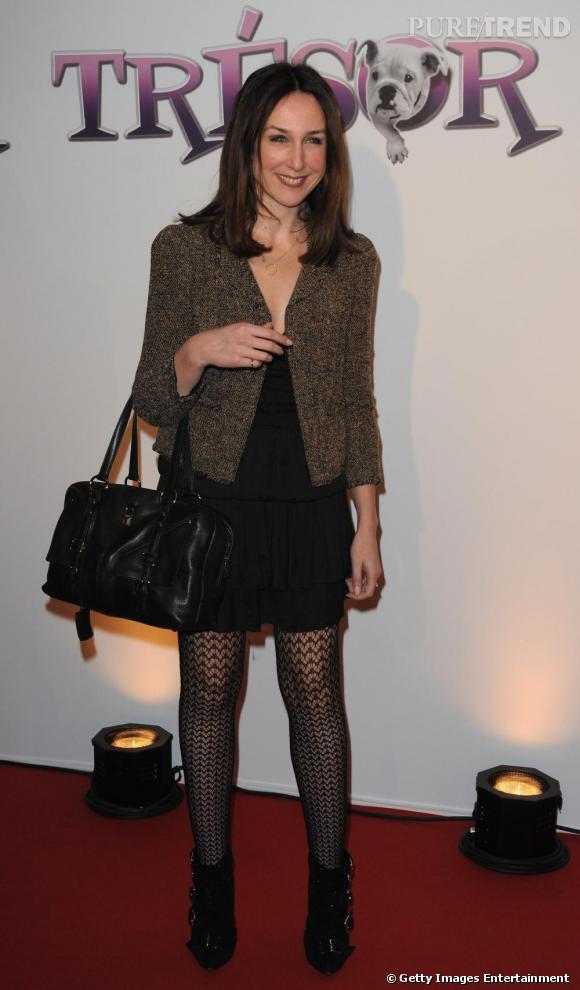 Elsa Zylberstein lors de la première de Trésor à Paris