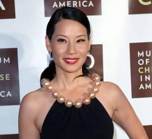 Lucy Liu, allure hitchcockienne : son dressing a pris des rides !
