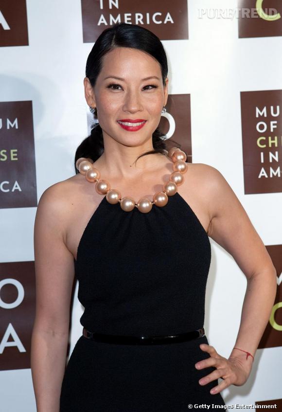 Lucy Liu au Musée des Chinois d'Amérique pour leur 30e anniversaire