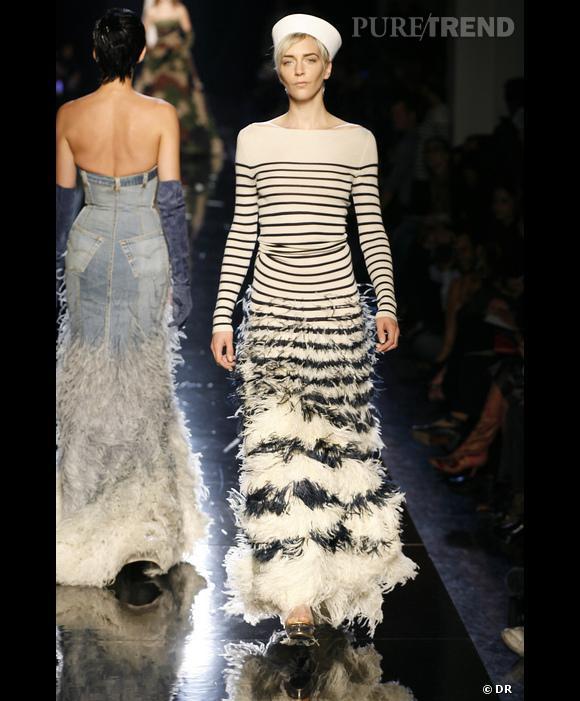 La robe marinière Jean Paul Gaultier.