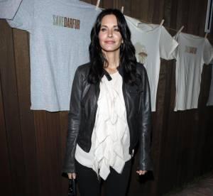Courteney Cox, glamour et féminine sans efforts... A shopper !