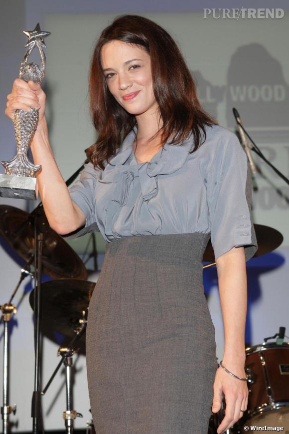 Asia Argento lors du Festival du Film International à Capri en Italie