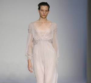 Défilé Alberta Ferretti - Sara Blomqvist - Milan Printemps Eté 2010