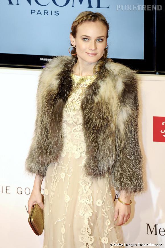 Diane Kruger lors des Goldene Kamera 2010 Awards en Allemagne à Berlin