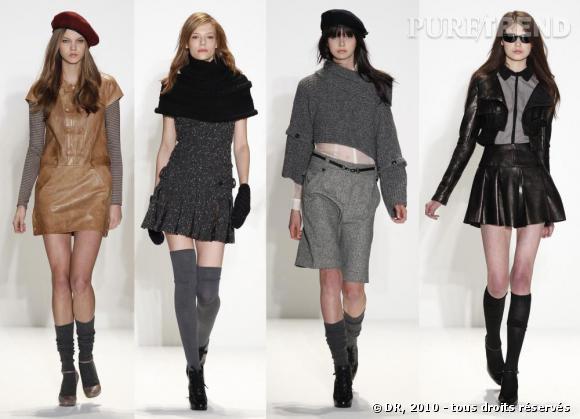 Défilé prêt-à-porter Femme New York Automne-Hiver 2010-2011 : Cynthia Steffe
