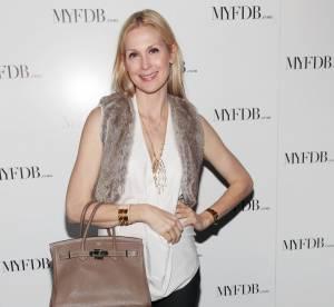 Kelly Rutherford et son it-bag : une histoire d'amour... A shopper !