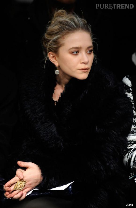 Mary-Kate Olsen au défilé Proenza Schouler