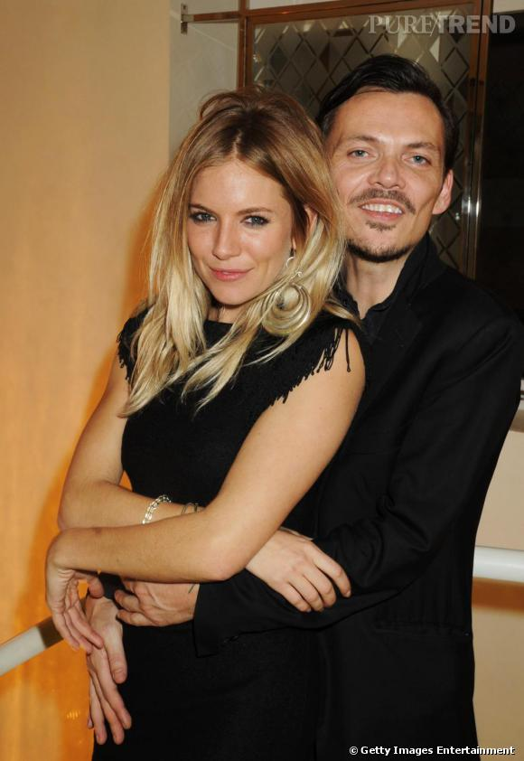 Sienna Miller et Matthew Williamson au défilé Matthew Williamson