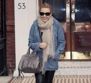Kylie Minogue, Katie Holmes, Alexa Chung : alerte, la chemise en jean est de retour !