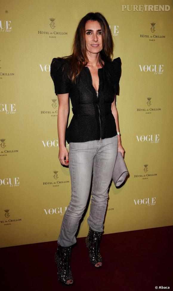 Mademoiselle Agnès à la soirée Vogue au Crillon