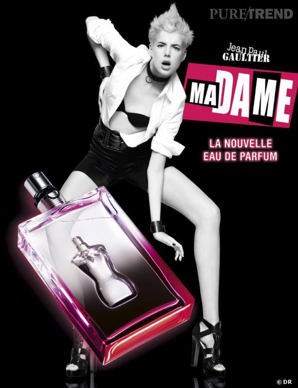 """L'eau de parfum """"MaDame"""" de Jean Paul Gaultier"""